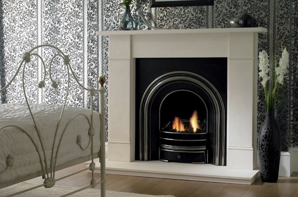 Flat Victorian Limestone Surround The Fireplace Gallery