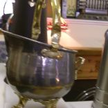 brass and chrome scuttle