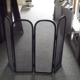 Wrought iron 4 fold fireguard