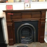 The Embassy fireplace/ surround solid Mahogany