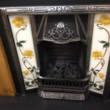 Cast Iron , Tiled Insert  – tulip 2 , showroom